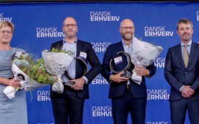 Carelink, Falck og Danske Regioner vinder Dansk Erhverv-prisen 2021